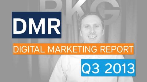 Digital Marketing Report, Q3 2013 - Attribution