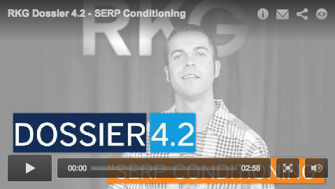 Dossier 4.2 - SERP Conditioning