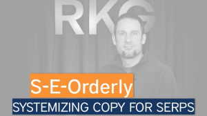 Systemize Copy for SERPs