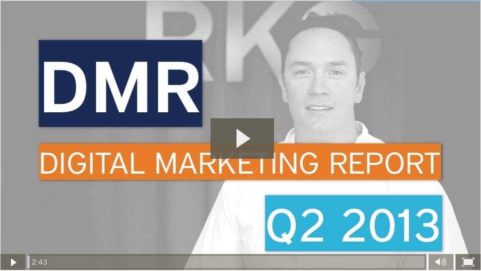 Digital Marketing Report - Mobile & Social