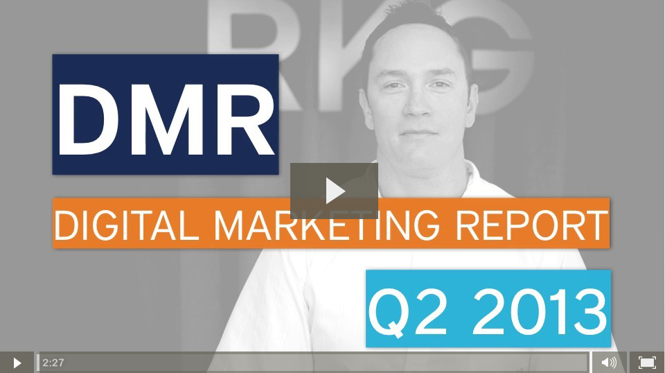 Digital Marketing Report Video - iOS 6