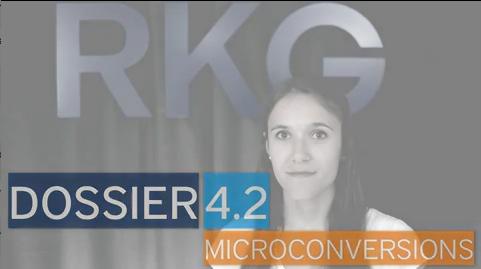 Dossier 4.2 - Microconversions