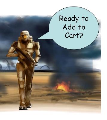 Halo 3 E-commerce guru