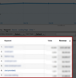 SEO 'not provided' data is a valuable segment of traffic